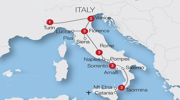 Train Travel In Italy Map.How To Travel Italy By Train First Timer Guide This Is Italy