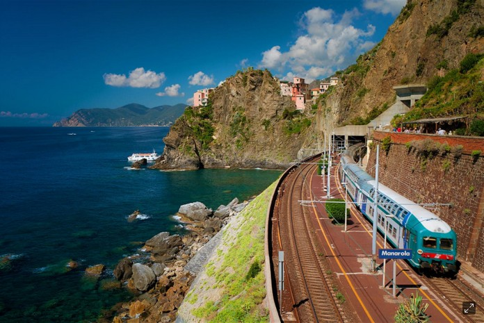 Train Travel In Italy Map.Italy Train Map Traveling In Italy By Rail This Is Italy
