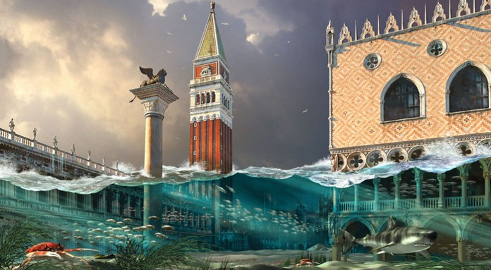 This is when Venice will become an Underwater City