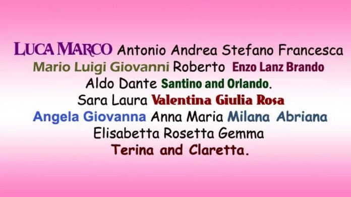 Italian Boy Name: Top 14 Italian Names And Their Meanings