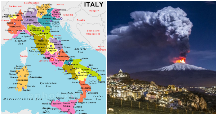 Mount Etna Volcano In Italy Moved 50cm After The Eruption This Is