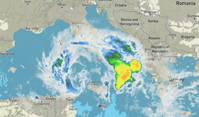 Italy weather: Hurricane to STRIKE Italy in next 24 HOURS