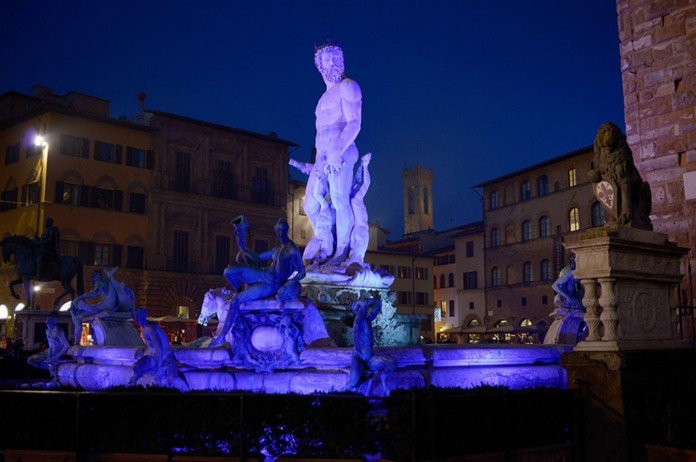 Christmas In Florence Italy.Christmas In Florence Italy With The Light Festival This